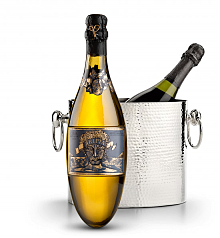 Wine Accessories & Decanters: Kripta Brut Nature Cava Gran Reserva 2007 with Luxury Wine Chiller