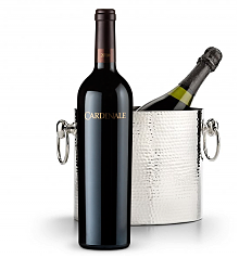 Wine Accessories & Decanters: Cardinale Cabernet Sauvignon 2010 with Luxury Wine Chiller