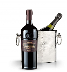 Wine Totes & Carriers: Luxury Wine Chiller with Joseph Phelps Napa Valley Insignia Red 2010