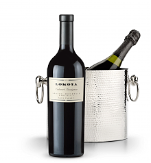 Wine Accessories & Decanters: Lokoya Spring Mountain Cabernet Sauvignon 2005 with Luxury Wine Chiller