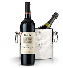 Wine Totes & Carriers: Luxury Wine Chiller with Groth Reserve Cabernet Sauvignon 2009