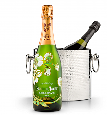 Wine Accessories & Decanters: Perrier-Jouet Belle Epoque with Luxury Wine Chiller