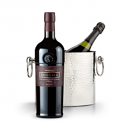 Wine Totes & Carriers: Luxury Wine Chiller with Joseph Phelps Insignia Red 2012