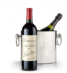 Wine Accessories & Decanters: Dominus Estate 2012 with Luxury Wine Chiller