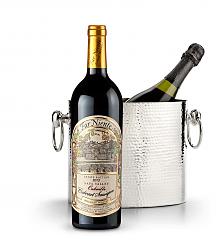 Wine Totes & Carriers: Luxury Wine Chiller with Far Niente Estate Bottled Cabernet Sauvignon 2013