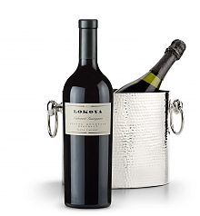 Wine Accessories & Decanters: Lokoya Spring Mountain Cabernet Sauvignon 2009 with Luxury Wine Chiller