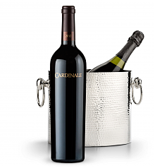 Wine Accessories & Decanters: Cardinale Cabernet Sauvignon 2012 with Luxury Wine Chiller
