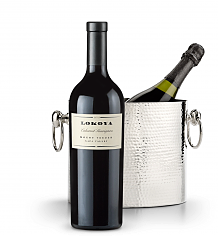 Wine Accessories & Decanters: Lokoya Mt. Veeder Cabernet Sauvignon 2009 with Luxury Wine Chiller