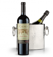 Wine Accessories & Decanters: Caymus Special Selection Cabernet Sauvignon 2013 with Luxury Wine Chiller