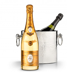 Wine Accessories & Decanters: Louis Roederer Cristal Brut 2007 with Luxury Wine Chiller