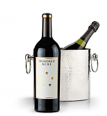 Wine Accessories & Decanters: Hundred Acre Ark Vineyard Cabernet Sauvignon 2013 with Luxury Wine Chiller