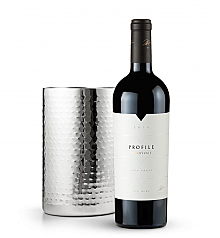 Wine Totes & Carriers: Double Walled Wine Chiller with Merryvale Profile 2010