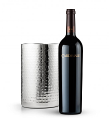 Wine Accessories & Decanters: Cardinale Cabernet Sauvignon 2010 with Double Walled Wine Chiller