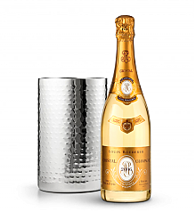 Wine Totes & Carriers: Double Walled Wine Chiller with Louis Roederer Cristal Brut 2006