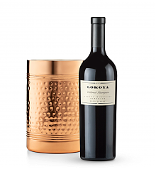 Wine Accessories & Decanters: Lokoya Mt. Veeder Cabvernet Sauvignon 2010 with Double Walled Wine Chiller