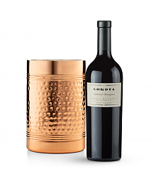 Wine Accessories & Decanters: Lokoya Spring Mountain Cabernet Sauvignon 2009 with Double Walled Wine Chiller