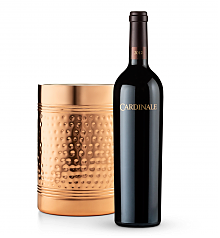 Wine Accessories & Decanters: Cardinale Cabernet Sauvignon 2012 with Double Walled Wine Chiller