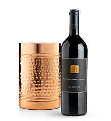 Wine Accessories & Decanters: Darioush Signature Cabernet Sauvignon 2014 with Double Walled Wine Chiller