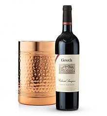 Wine Accessories & Decanters: Groth Reserve Cabernet Sauvignon 2014 with Double Walled Wine Chiller