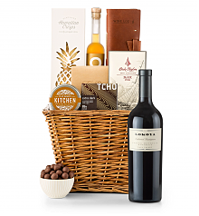 Premium Wine Baskets: Lokoya Spring Mountain Cabernet Sauvignon 2007 Sand Hill Road Luxury Gift Basket