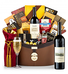 Champagne Baskets: Quintessa Meritage Red 2011 Windsor Luxury Gift Basket