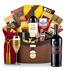 Champagne Baskets: Joseph Phelps Napa Valley Insignia Red 2012 Windsor Luxury Gift Basket
