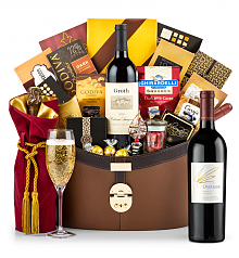 Champagne Baskets: Opus One Overture Windsor Luxury Gift Basket