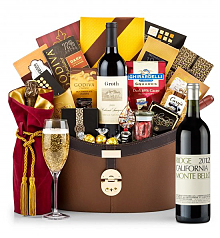 Champagne Baskets: Ridge Monte Bello Red 2012 Windsor Luxury Gift Basket