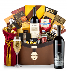 Champagne Baskets: Silver Oak Napa Valley Cabernet Sauvignon 2012 Windsor Luxury Gift Basket