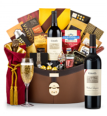 Premium Wine Baskets: Groth Reserve Cabernet Sauvignon 2014 Windsor Luxury Gift Basket
