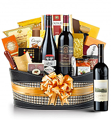 Premium Wine Baskets: Quintessa Meritage 2009 Red Wine Basket - Martha's Vineyard