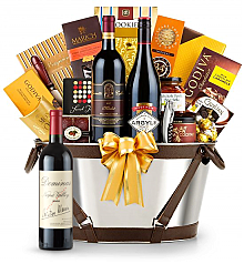 Premium Wine Baskets: Dominus Estate 2009-Martha's Vineyard Luxury Wine Basket