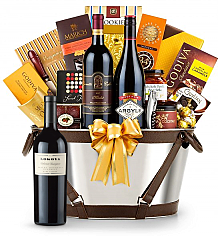 Premium Wine Baskets: Lokoya Mt.Veeder Cabernet Sauvignon 2005 -Martha's Vineyard Luxury Wine Basket