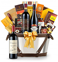 Premium Wine Baskets: Dominus Estate 2011-Martha's Vineyard Luxury Wine Basket