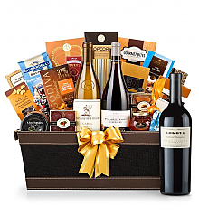 Premium Wine Baskets: Lokoya Mt. Veeder Cabernet Sauvignon 2005 - Cape Cod Luxury Wine Basket