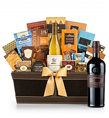 Premium Wine Baskets: Joseph Phelps Insignia Red 2011 - Cape Cod Luxury Wine Basket