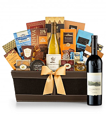 Premium Wine Baskets: Quintessa Meritage Red 2011 - Cape Cod Luxury Wine Basket