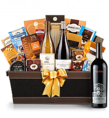 Premium Wine Baskets: Silver Oak 2010 - Cape Cod Luxury Wine Basket