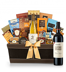Premium Wine Baskets: Groth Reserve Cabernet Sauvignon 2011 - Cape Cod Luxury Wine Basket