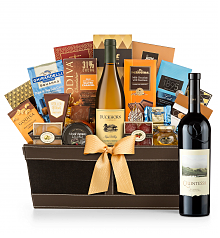 Premium Wine Baskets: Quintessa Meritage Red 2013 - Cape Cod Luxury Wine Basket