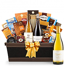 Premium Wine Baskets: Kistler Vineyard Sonoma Mountain Chardonnay 2014 - Cape Cod Luxury Wine Basket