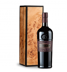 Wine Gift Boxes: Joseph Phelps Insignia Red 2012 in Handcrafted Burlwood Box