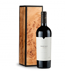 Wine Gift Boxes: Merryvale Profile 2011 in Handcrafted Burlwood Box