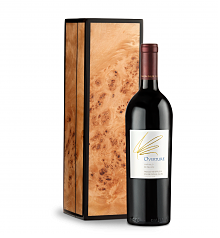 Wine Gift Boxes: Opus One Overture in Handcrafted Burlwood Box