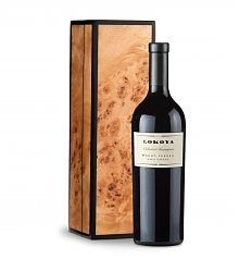 Wine Gift Boxes: Lokoya Mt. Veeder Cabernet Sauvignon 2009 in a Handcrafted Burlwood Box