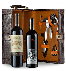 Wine Totes & Carriers:  Caymus Special Selection Cabernet Sauvignon 2011 and Silver Oak Napa Valley Cabernet Sauvignon 2008 Connoisseur's Collection