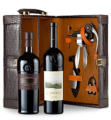 Wine Totes & Carriers: Joseph Phelps Insignia Red 2009 and Quintessa 2010 Connoisseur's Collection