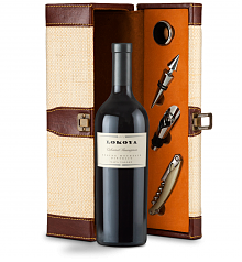 Wine Totes & Carriers: Lokoya Spring Mountain Cabernet Sauvignon 2007 Wine Gift Set