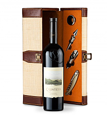 Wine Totes & Carriers: Quintessa Meritage Red 2009 Wine Gift Set