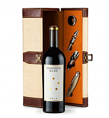 Wine Totes & Carriers: Hundred Acre Ark Vineyard Cabernet Sauvignon 2010 Wine Steward Luxury Caddy